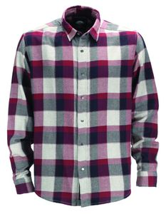 Dickies Tripoli flannel shirt - Grey