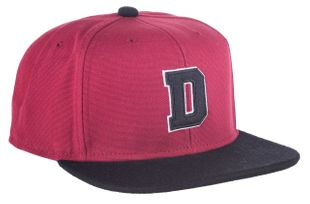 Dickies Richvale Snapback Cap - Red