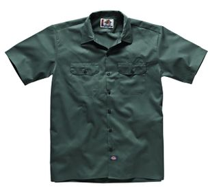 Dickies Short Sleeve Work Shirt - Charcoal Grey