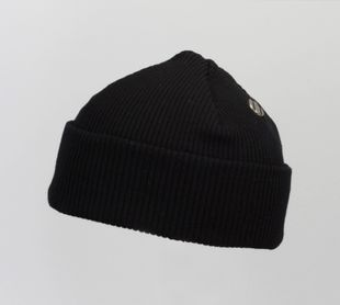 Costo Nipa Black 100% Wool Beanie