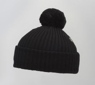 Costo Wipi Black 100% Wool Beanie