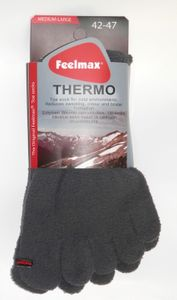 Feelmax Thermo Varvassukat - Harmaa