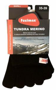 Feelmax Tundra Merino varvassukat - Musta